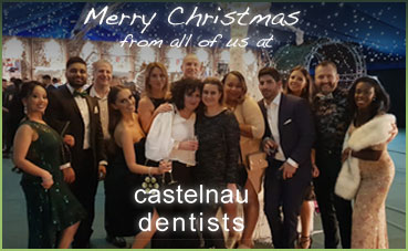 Merry Christmas from all the team at Castelnau Dentists