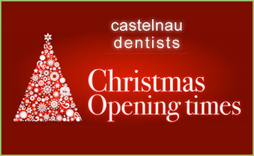 Christmas Opening Hours at Castelnau Dentists